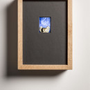 Jan Fabre ILAD V 1987-2015 ektachrome, glass, wood, electronics / ektachrome, legno, componenti elettronici ekta: 5,6 x 4,1 cm / framed: 27 x 20 cm