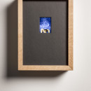 Jan Fabre ILAD VIII 1987-2015 ektachrome, glass, wood, electronics / ektachrome, legno, componenti elettronici ekta: 5,6 x 4,1 cm / framed: 27 x 20 cm