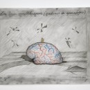 Jan Fabre | The brain of Velazquez (maids of honour and monkey nuts), 2014 | HB pencil, colour pencil on photo paper | 24 x 30,5 cm | Photographer Pat Verbruggen |  Copyright Angelos bvba
