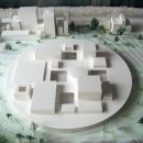 Alberto Garutti | Dedicato agli abitanti delle case | 2002| Scale model of the museum of Contemporary Art of Kanazawa