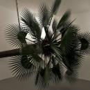 Elisabetta Benassi |  Mimetica | 2016 |  Artificial Palm Tree, steel, resin, natural fiber, polypropylene |  310 x 300 x 690 cm | Installation view at Magazzino