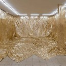 Mircea Cantor Heaven and Hell Simultaneously 2016, emergency blankets 91.2 sqm