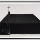 Jonas Dahlberg, House, 2015 | Black & white inkjet on cotton paper 86 x 123 x 4 cm framed