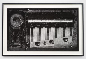 Music Box, 2015 Black & white photograph on cotton paper 143 x 218.5 x 6 cm