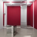 Lazzarini Pickering   Mobile Mobile   2018   Polished steel, lacquer panel, mirror glass   Variable Dimensions   Installation view at Magazzino   Room 2